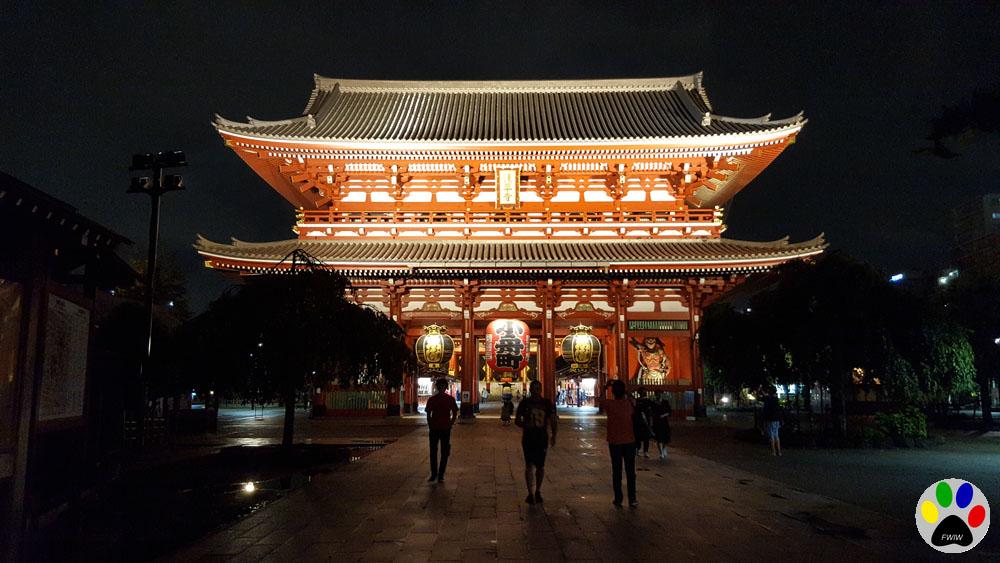 Voyage Japon : Voyage, Asakusa, Manga Café et premier onsen