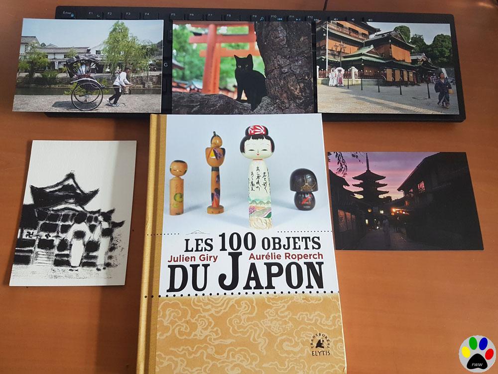 «Les cent objets du Japon» de Julien Giry et Aurélie Roperch
